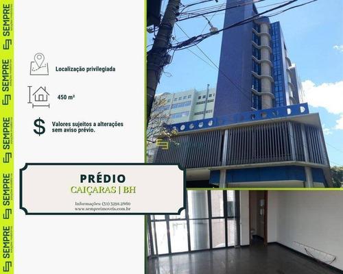 Imagem 1 de 15 de Prédio Para Alugar, 450 M² - Caiçaras - Belo Horizonte/mg - Pr0031