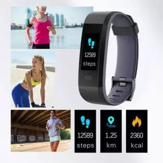 Pulcera Smartband Id115 Plus Pantalla Color, Ritmo Cardíaco,