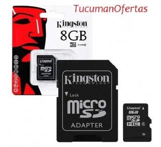 Micro Sd De 8 Gb - Tarjeta De Memoria Para Celular O Camara