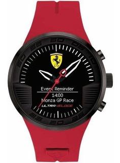 Reloj De Hombre Ferrari Ultraveloce Con Esfera Negra Y Corre