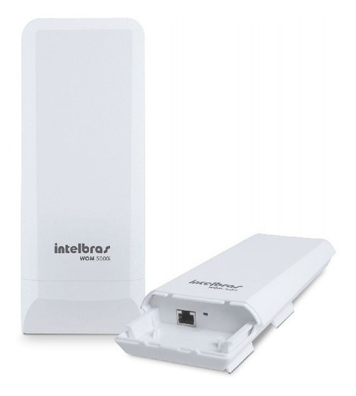 Antena Cpe Wireless Intelbras Wom 5000i 5ghz12dbi Nanostatio