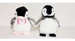 Casal De Pinguim De Pelúcia Fizzy