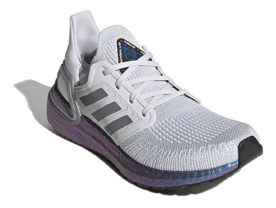 Tênis adidas Ultraboost 20 W Cinza/azul
