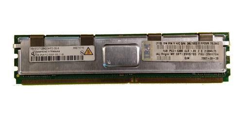 Memoria Ibm Servidor Ddr2-667 Ecc 1gb Pc2-5300f 39m5784