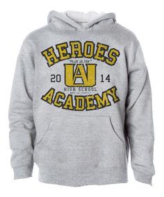 Moletom Casaco Boku No Hero Academy Academia Deku Freekz