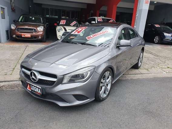 Mercedes Benz Cla 200 First Edition 1.6 Tb 2014 Blindada
