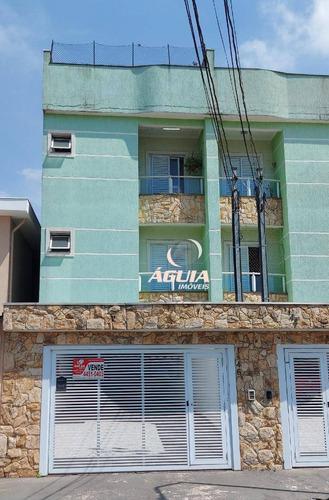 Cobertura Com 2 Dormitórios À Venda, 67m²+67m² Por R$ 460.000 - Vila Marina - Santo André/sp - Co0956