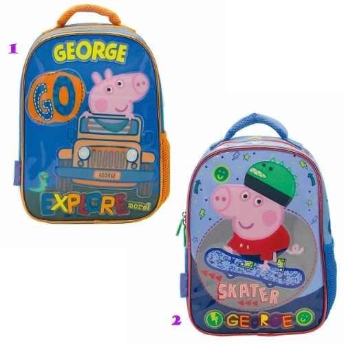 Mochila De Espalda George Pig 12 Pulgadas. (pp041)