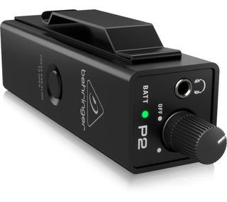 Monitor Para Audifonos Behringer Powerplay P2 Ultra Compacto