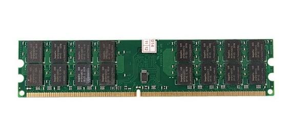 Memória Ddr2 4gb (1x4) 800mhz Pc2-6400u Para Pcs Amd