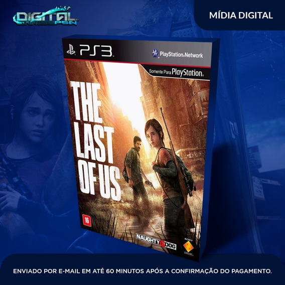 The Last Of Us Ps3 Psn Midia Digital Em 10 Min! Original