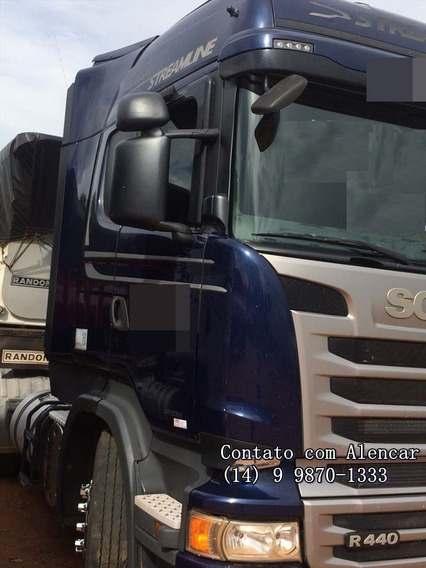 Scania R440 Streamline Rodo-caçamba Randon C/controle Remoto