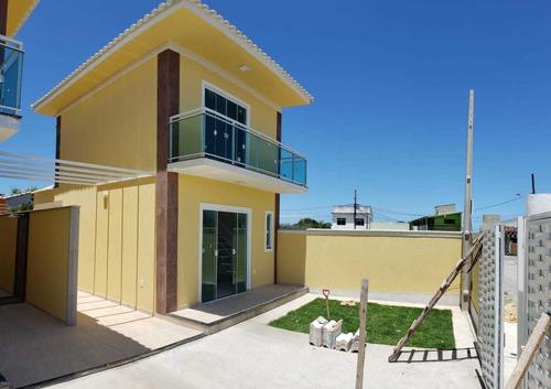 Imagem 1 de 14 de Fam92 Ótima Casa Duplex Com 2 Quartos Em Itaipuaçú!