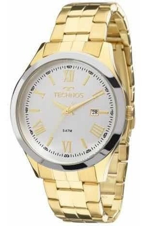 Relógio Technos Dourado Masculino 2115mgm/4k