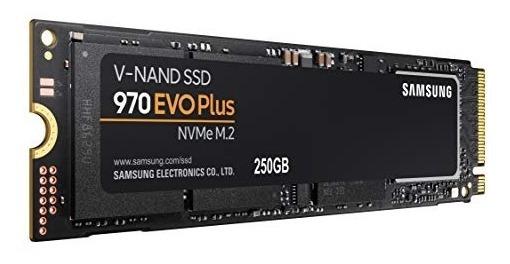 Ssd M.2 250gb Samsung 970 Evo Plus Nvme 3500mb/s