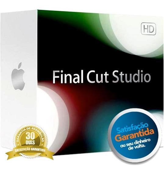 Final Cut Studio Pro 7 Original - Frete Grátis Mídia Digital