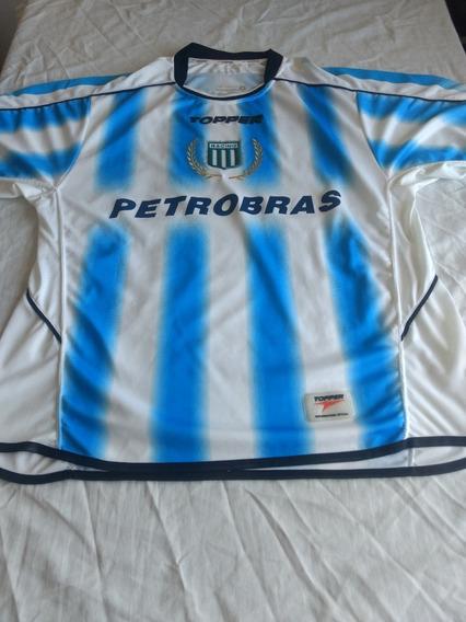 Camiseta Racing Temporada 2005 Utilizada Por El Chino Luna