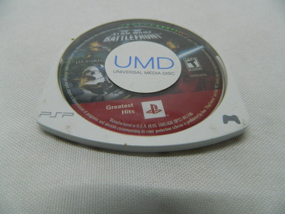 Star Wars Battle Front 2 - Só O Umd - Original Sony Psp
