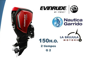 Motor Evinrude G2 150ho Pl. Consultar Precios De Contado.