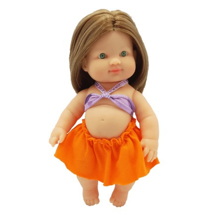 Boneca Meninas Fashion Morena Zap - 1027