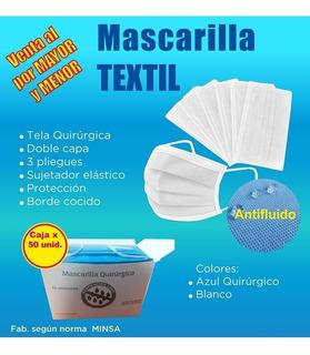 Mascarillas Lavable Notex Reutilizable Minsa Precio Caja