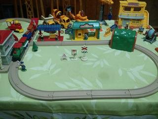 Conjunto De Ciudad (juguetes), Obreros, Ferrocarril Y Mas