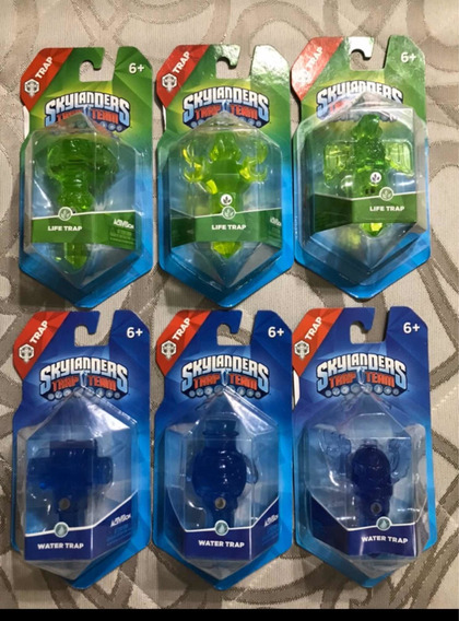 Kit Com 6 Skylanders Trap Team - Xbox One, 360, Ps3, Ps4