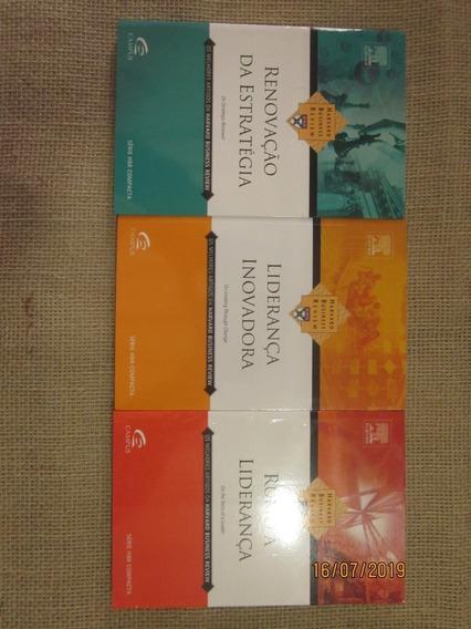 3 Livros Série Hbr Compacta # Estratégia # Liderança