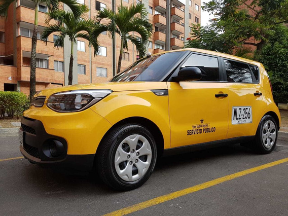 Taxi Kia Soul 2018 Excelente Condición