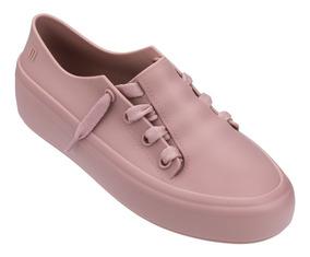 Tênis Melissa Ulitsa Sneaker Rosa Original + Brinde
