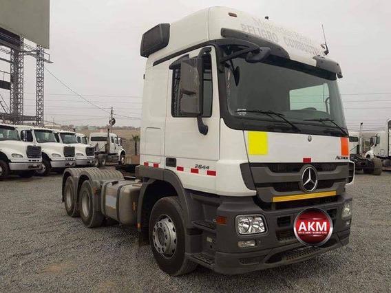 Tracto Camión Mercedes-benz Actros 2644 Año 2014.crédito