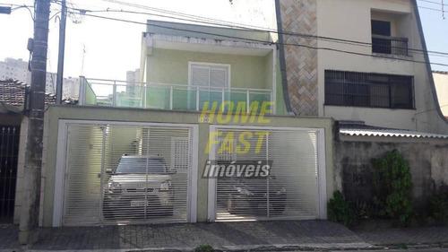 Sobrado Com 3 Dormitórios À Venda, 130 M² Por R$ 650.000,00 - Jardim Frizzo - Guarulhos/sp - So0616