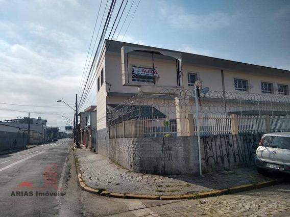 Prédio Comercial Para Alugar ~ R$ 4.500,00 - Vila Mogilar - Mogi Das Cruzes/sp - Ga0001