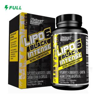 Lipo 6 Black Intense Ultra Concentrado (120 Caps) - Nutrex