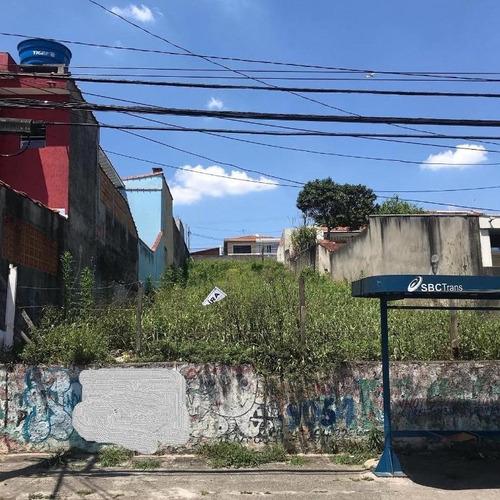 Imagem 1 de 1 de Terreno À Venda, 270 M² - Assunção - São Bernardo Do Campo/sp - Te4213