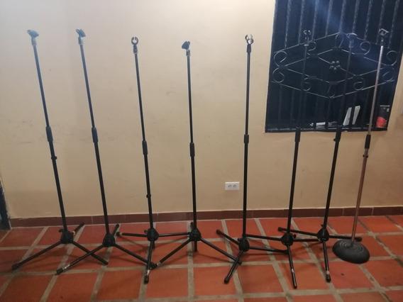 Parales De Micrófonos En Perfecto Estado !!