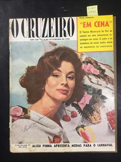 O Cruzeiro N°16 Alceu Penna Modas Para O Carnaval -1956