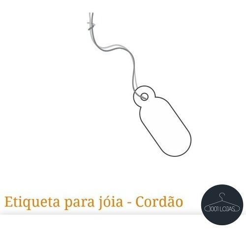 Etiquetas P/jóias Bijuteria Cordão Pct3000 (ebl7) Frete Free