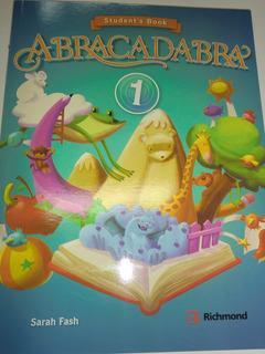 Abracadabra 1 Libro De Inglés Edt Richmond