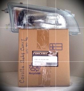 Faro Delantero Corolla Baby Camry De Vidrio Año 94/98