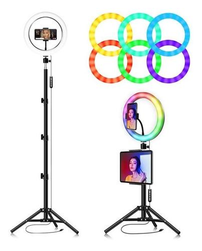 Aro Luz Led +tripode Celular Selfi Fotos Profesionales.