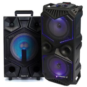 Kit Parlante Bluetooth Portatil Spbyf7 + Spb8b