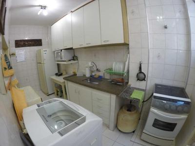 Apartamento 2 Dormitórios Mobiliado, Locação Definitiva No Canto Do Forte Em Praia Grande. - Ap2375