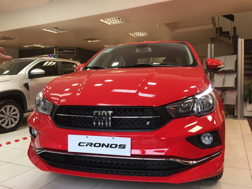 Fiat Cronos 1.8 0km Uber Gnc Retiro $170.000 Tasa 0% N-