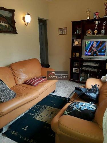 Imagem 1 de 7 de Apartamento Com 2 Dormitórios À Venda, 65 M² Por R$ 318.000,00 - Boqueirão - Santos/sp - Ap1323