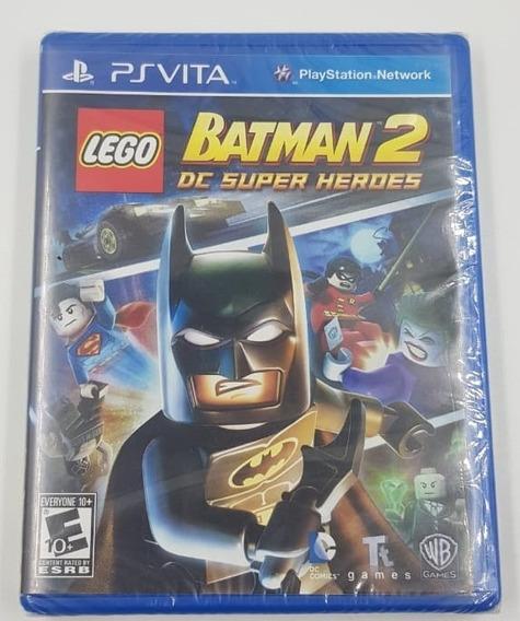 Jogo Mídia Física Lego Batman 2 Dc Super Heroes Psvita