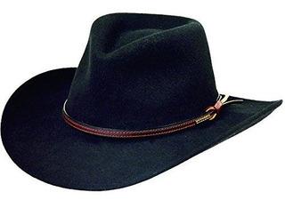 Sombrero De Vaquero Triturable De Fieltro De Lana Bozeman St