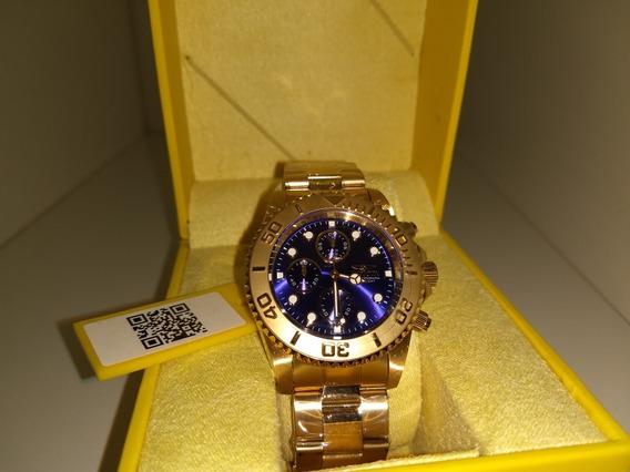 Relógio Invicta Pro Diver 19157 Original Ouro 18k