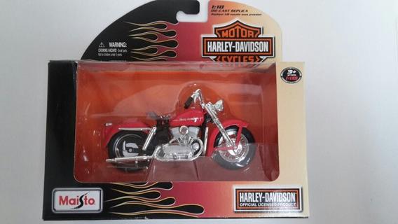 Moto Harley Davidson. Maisto. Escala 1/18