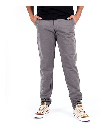 Pantalon Kappa Authentic Waitung Dark Grey Hombre